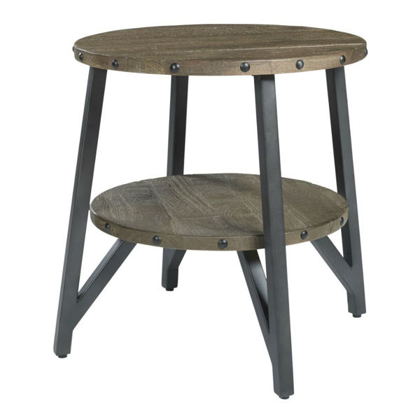 Urban Plank End Table