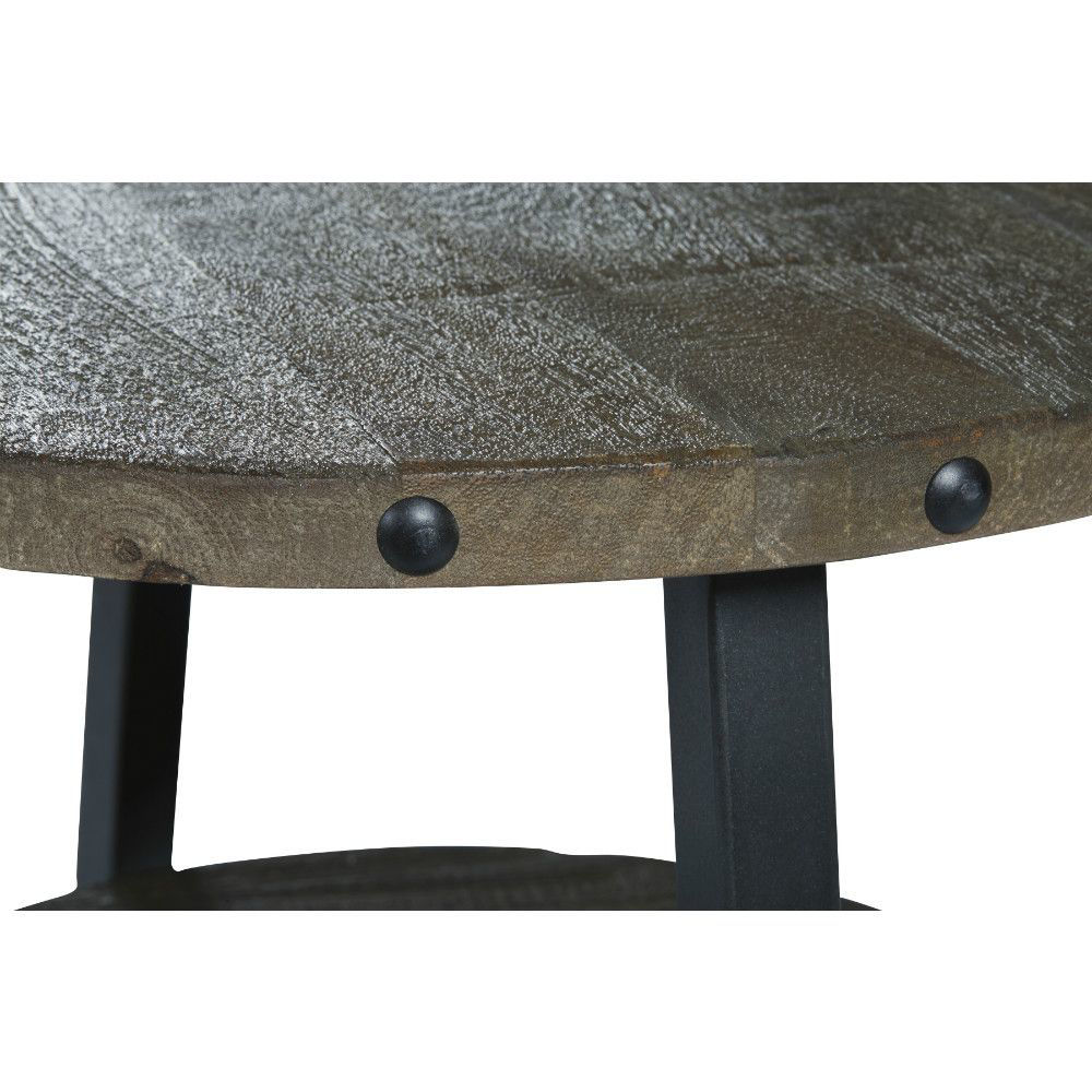 Urban Plank End Table - Top Detail