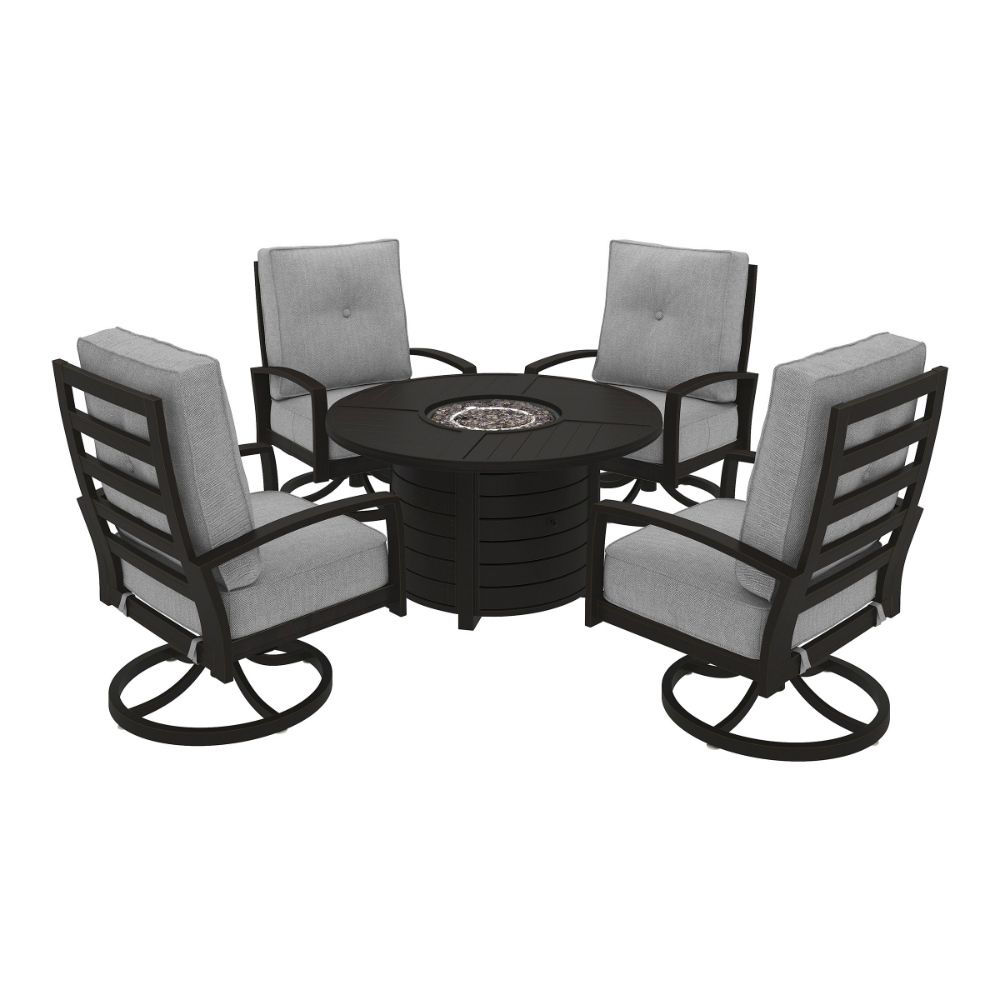 Bel-Air 5-Piece Fire Pit Group