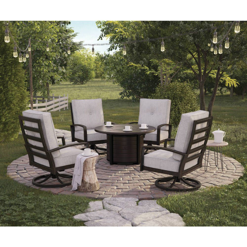 Bel-Air 5-Piece Fire Pit Group - Lifestyle