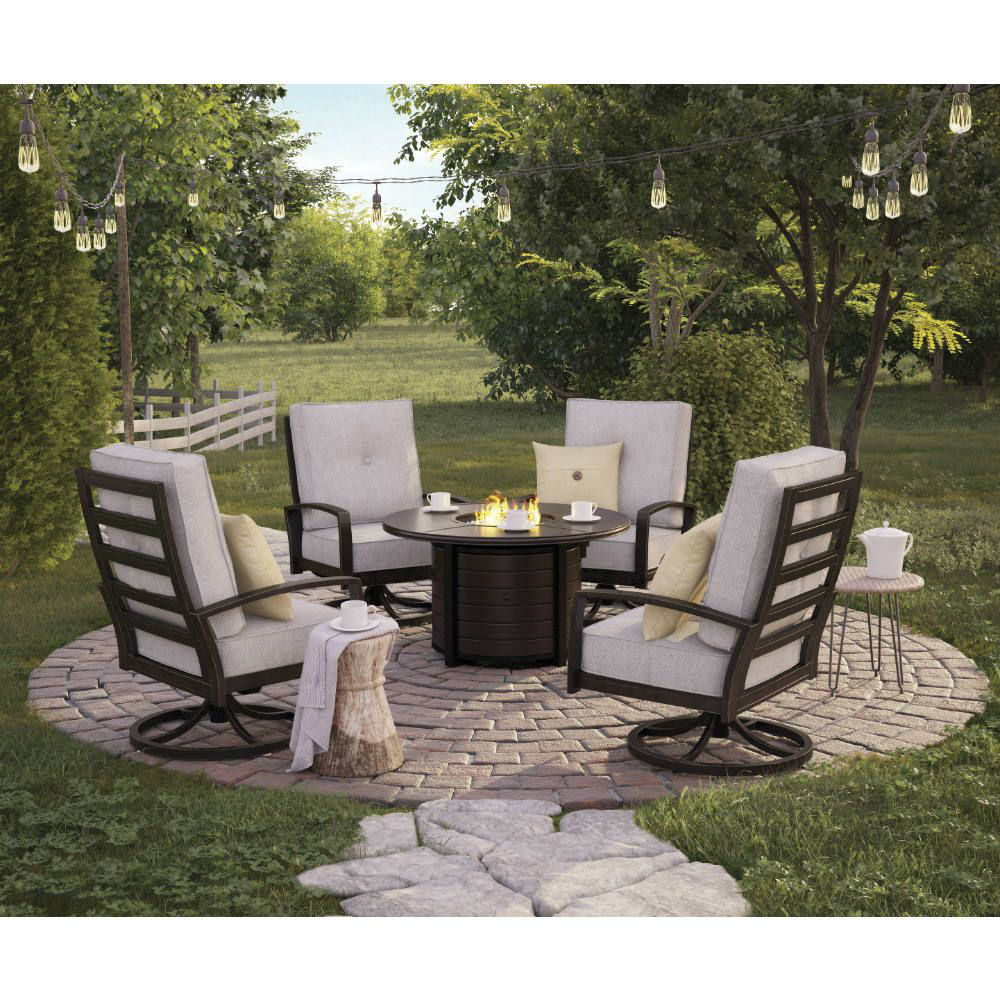Bel-Air 5-Piece Fire Pit Group - Lifestyle Fire