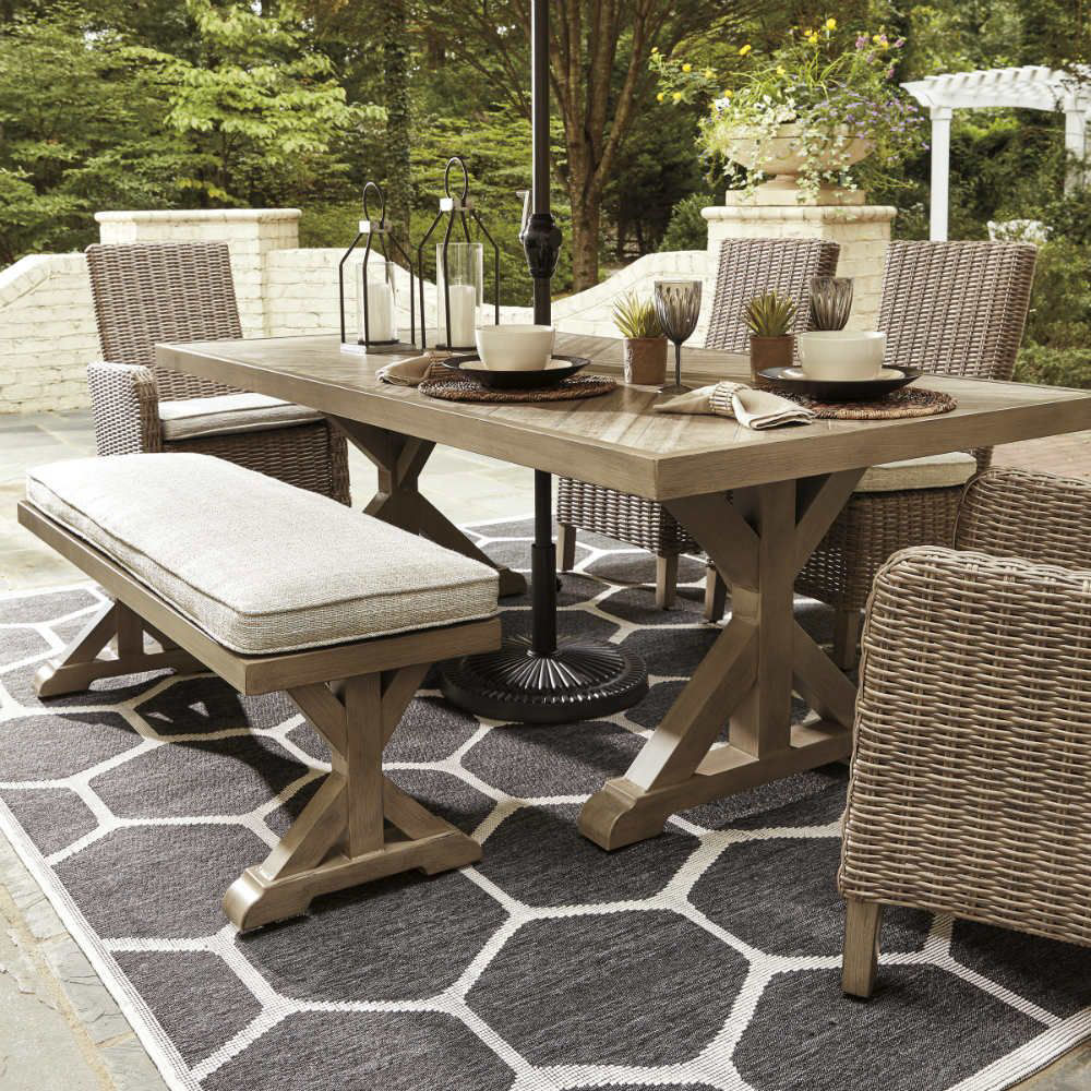 Milan 6-Piece Outdoor Dining Group - Lifestyle