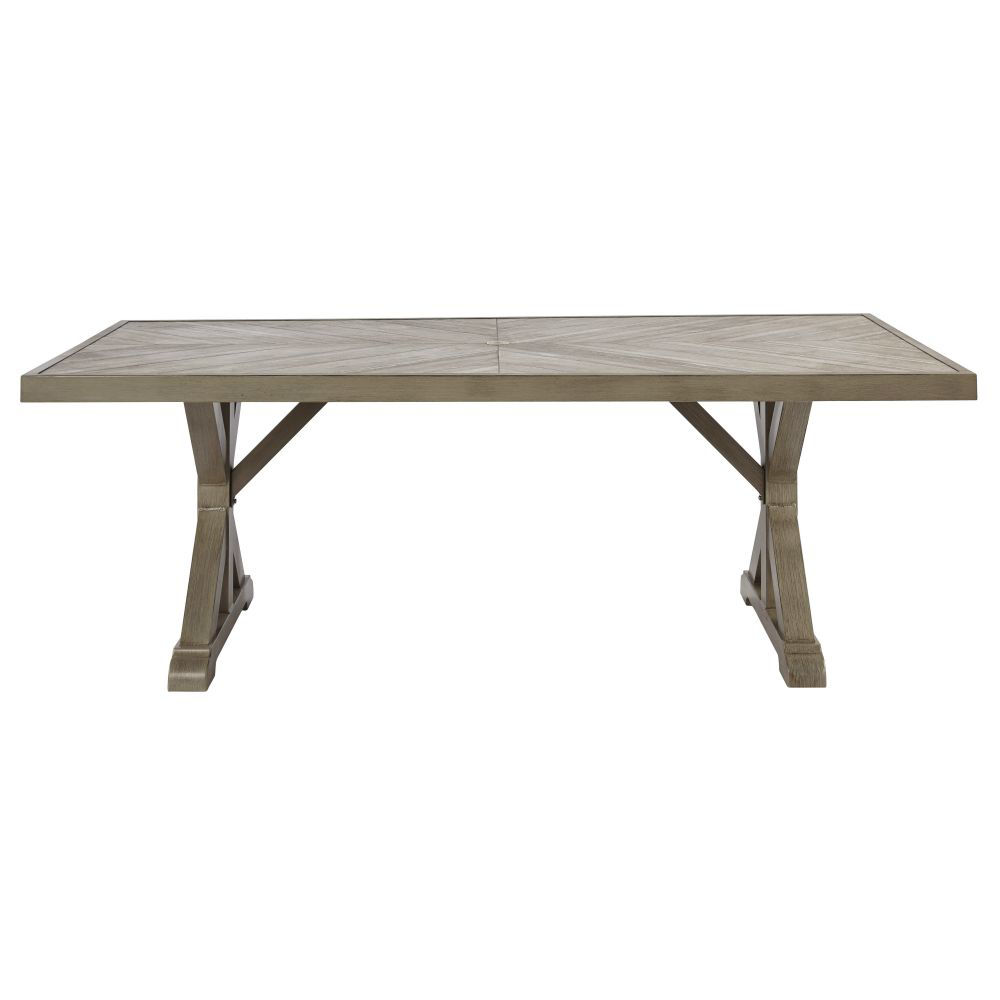 Milan Outdoor Dining Table - Front