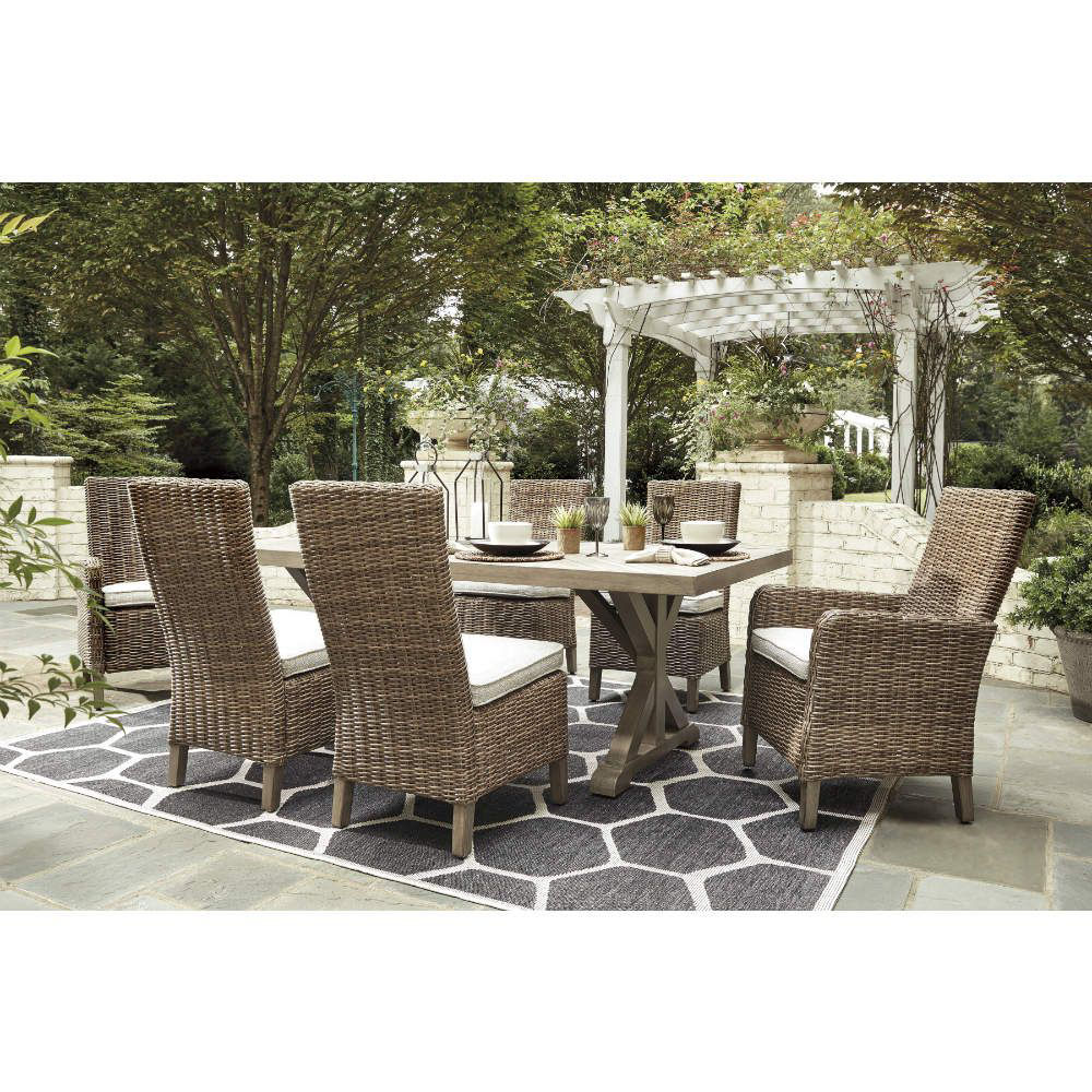 Milan 7-Piece Outdoor Dining - Lifestyle