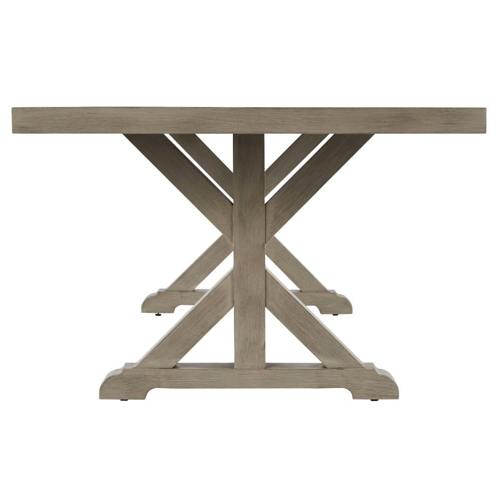 Milan Outdoor Dining Table - Side