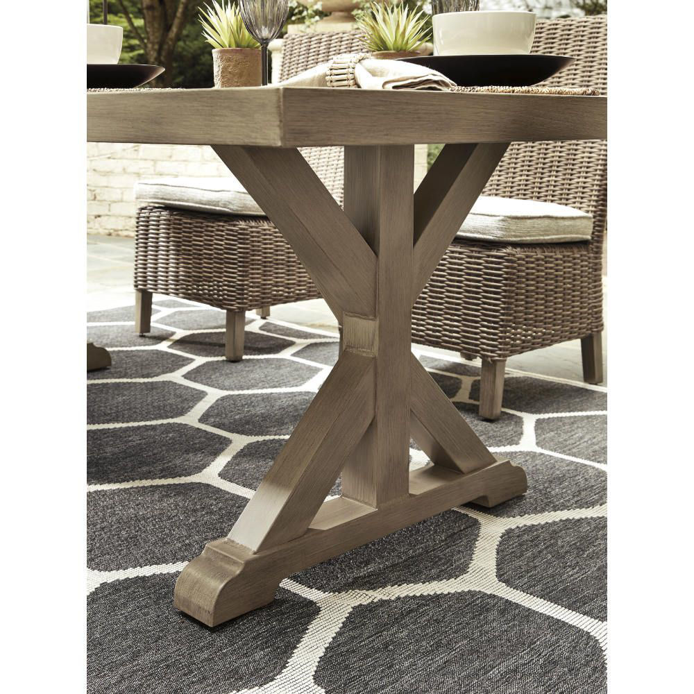 Milan Outdoor Dining Table - Detail