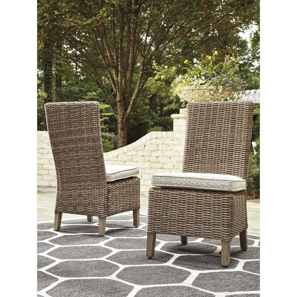 Milan Outdoor Side Chair - Lifestyle Pair