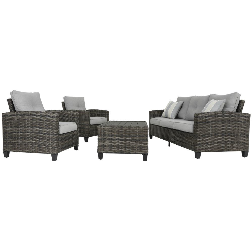 Tacoma 4-Piece Outdoor Seating Set - Side