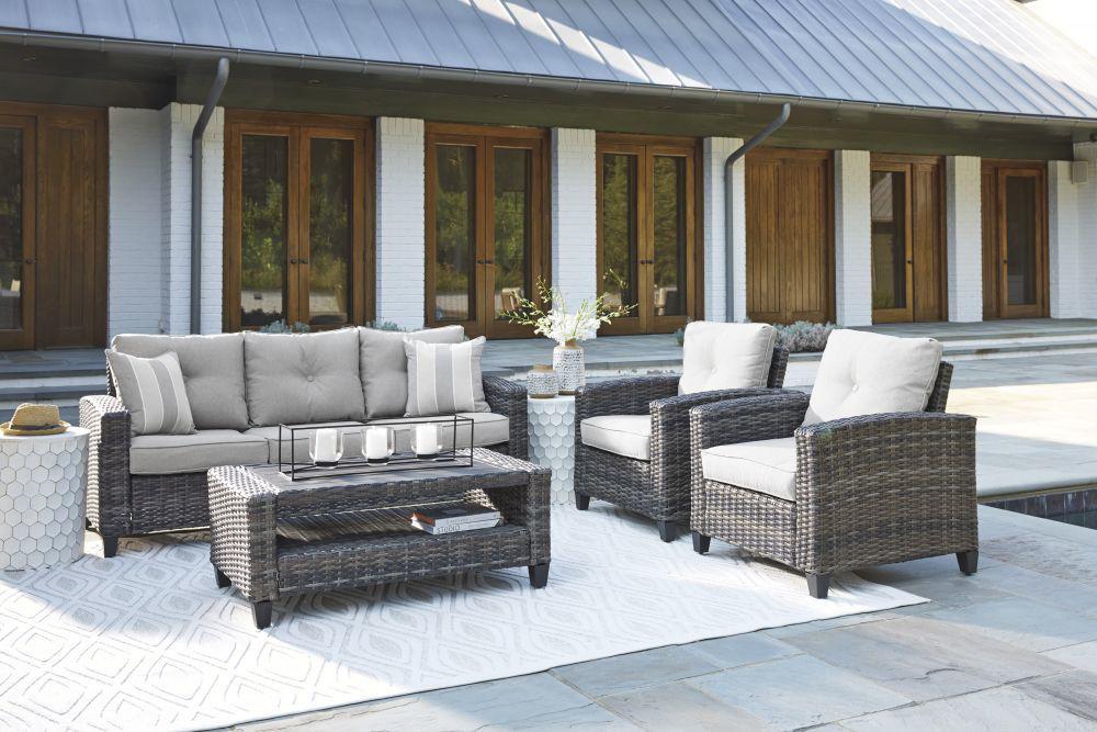 Tacoma 4-Piece Outdoor Seating Set - Mood 1
