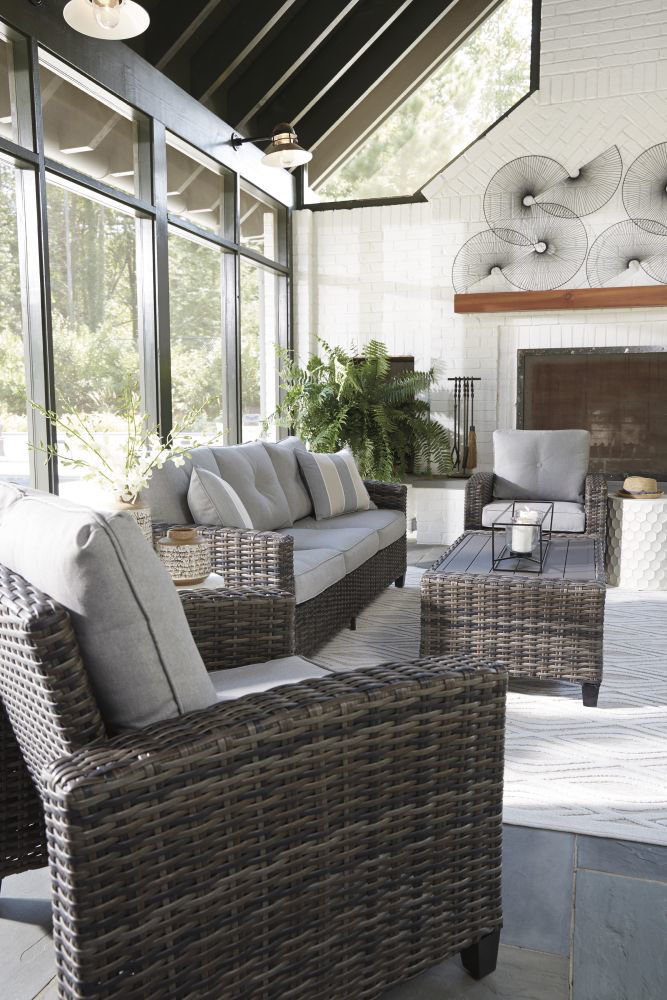 Tacoma 4-Piece Outdoor Seating Set - Mood 2