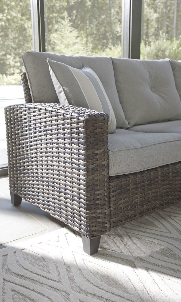 Tacoma 4-Piece Outdoor Seating Set - Sofa Detail
