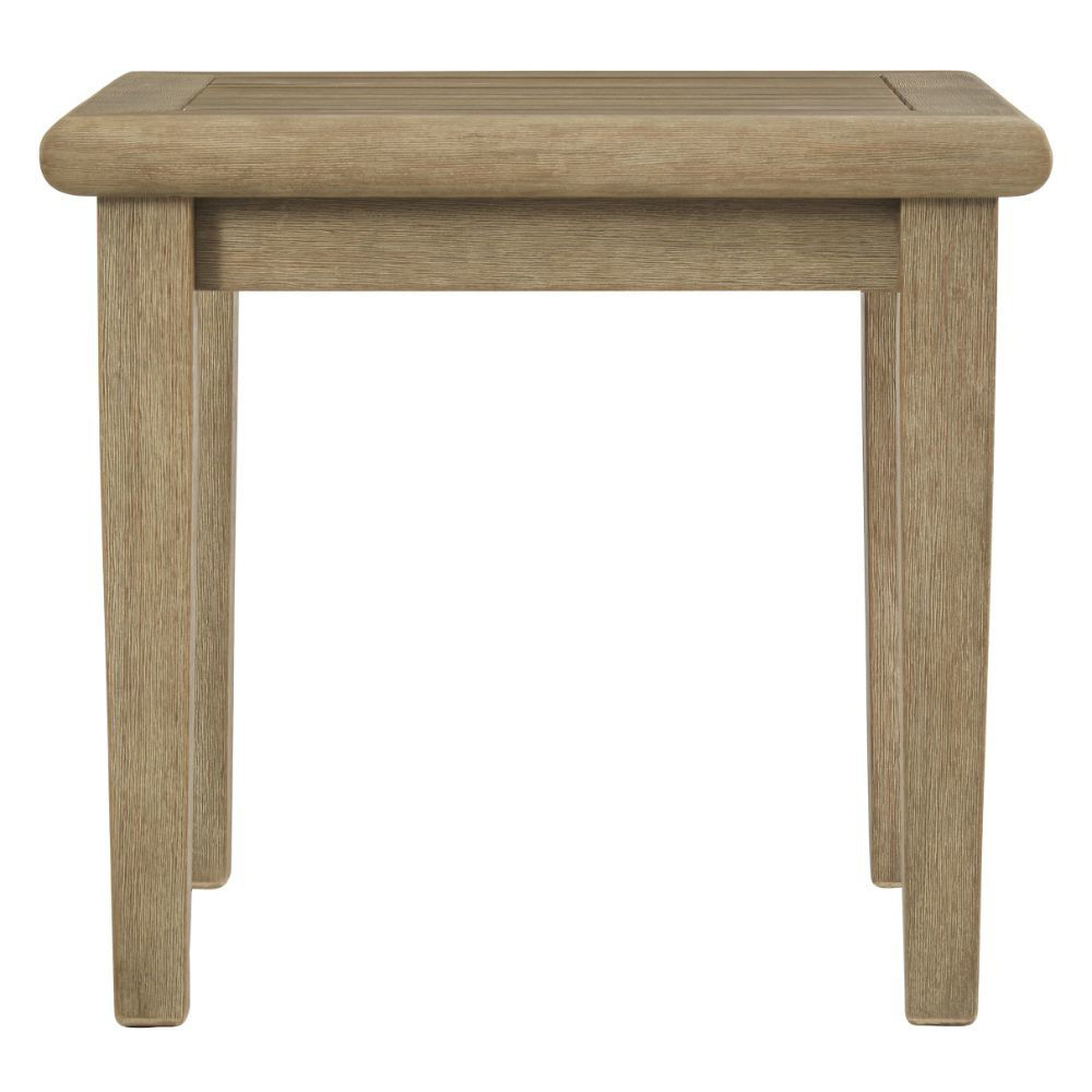 Tulum Outdoor End Table - Side