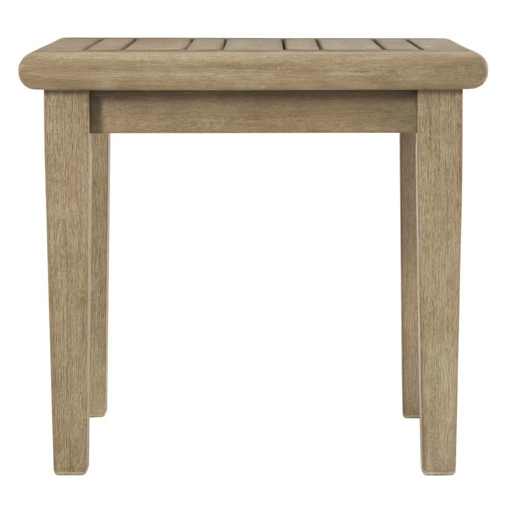 Tulum Outdoor End Table - Front