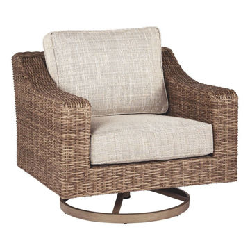Milan Swivel Outdoor Lounge Chair