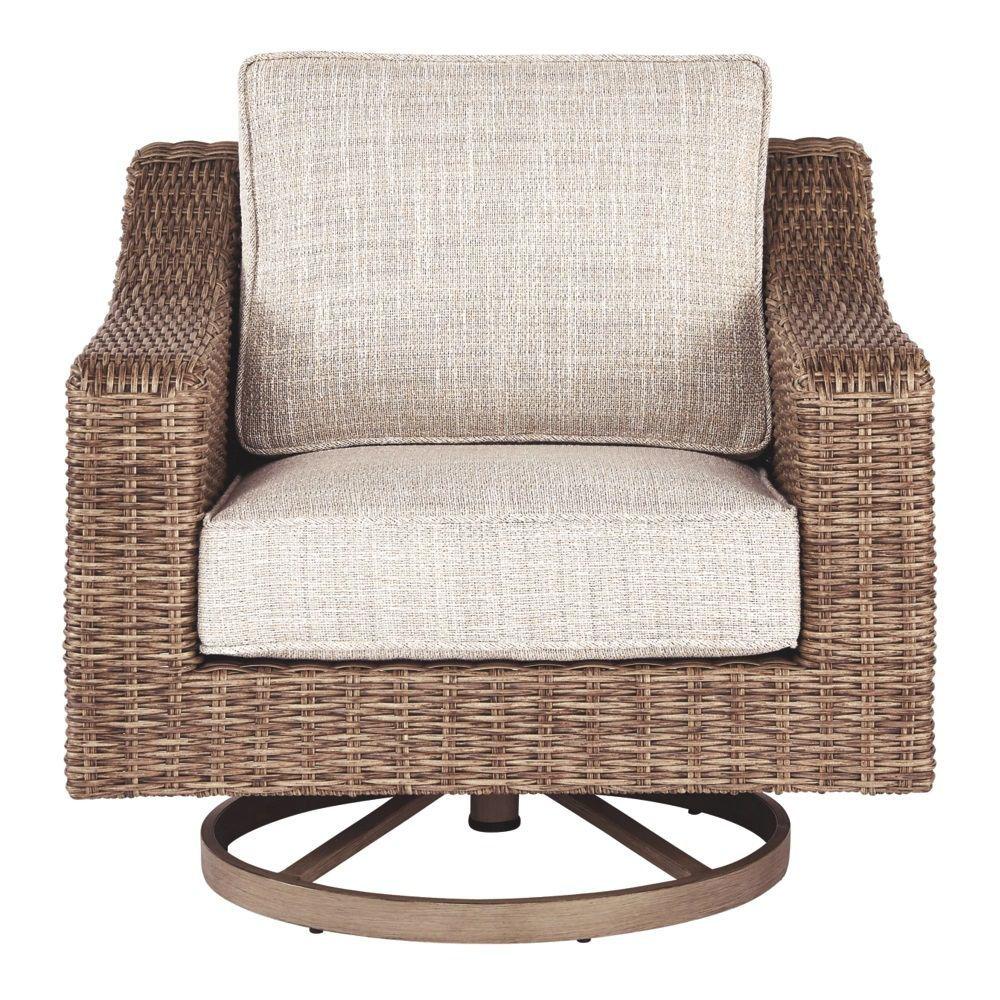 Milan Swivel Lounge Chair - Front
