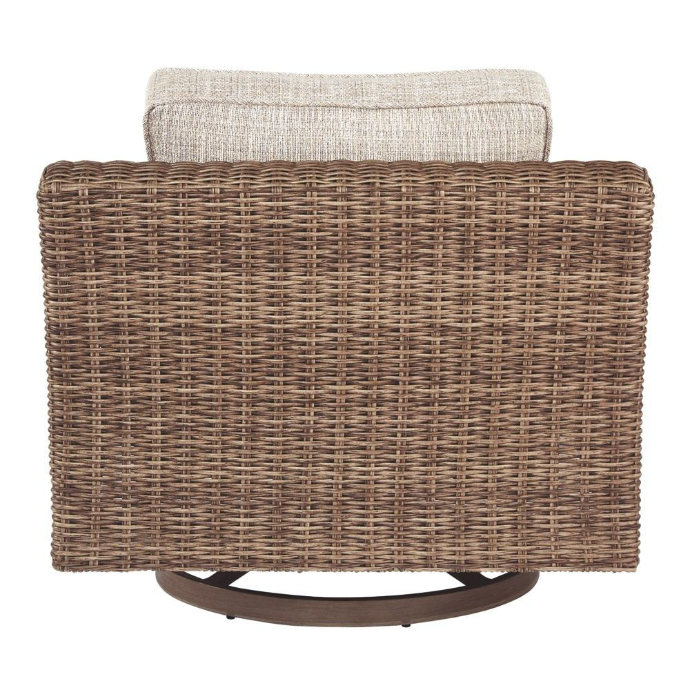 Milan Swivel Lounge Chair - Rear