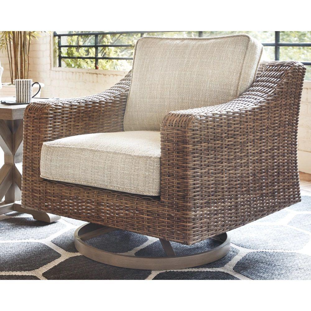 Milan Swivel Lounge Chair - Lifestyle