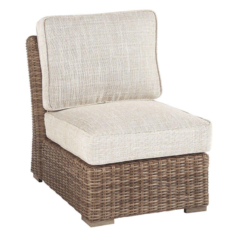 Milan Outdoor Armless Chair