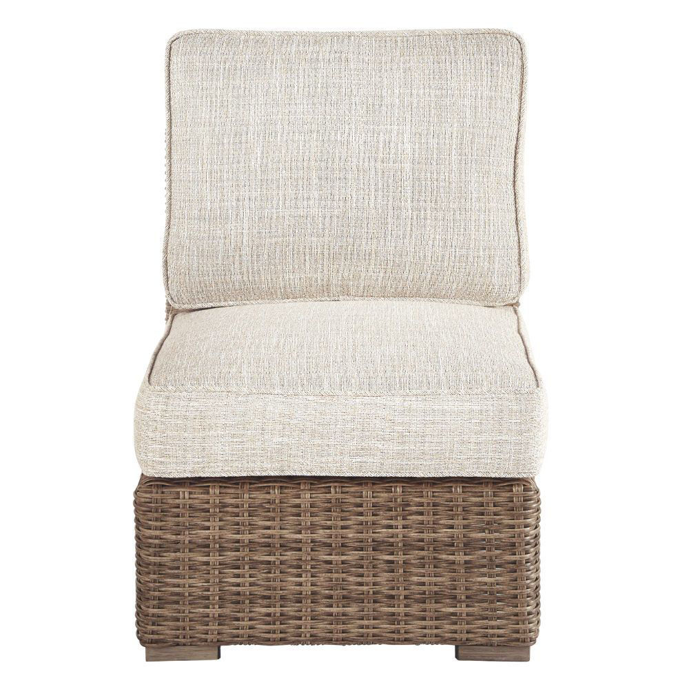 Milan Outdoor Armless Chair - Front