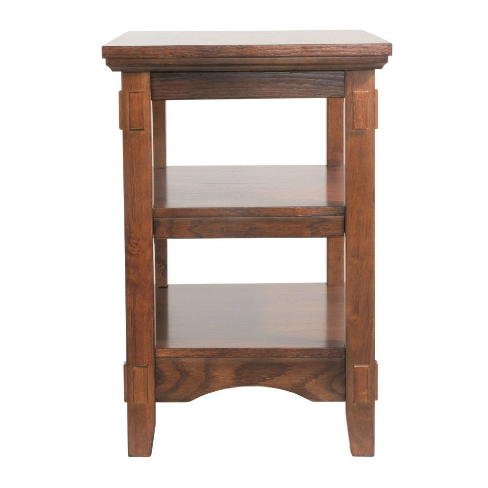 Mission Chairside Table - Front