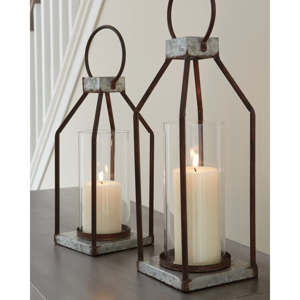 Tillo Lanterns - Set of 2 - Lifestyle