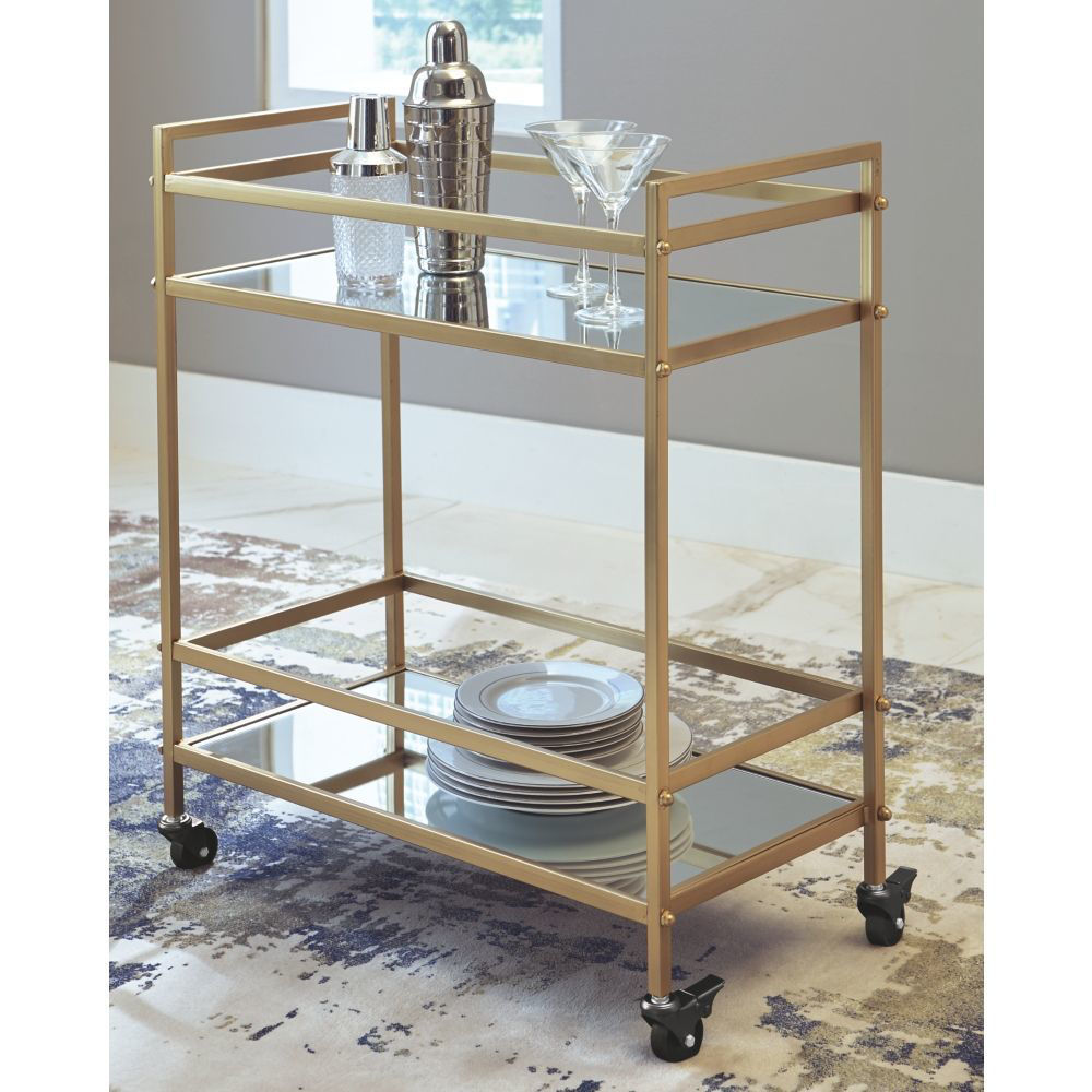 Clemens Bar Cart - Lifestyle