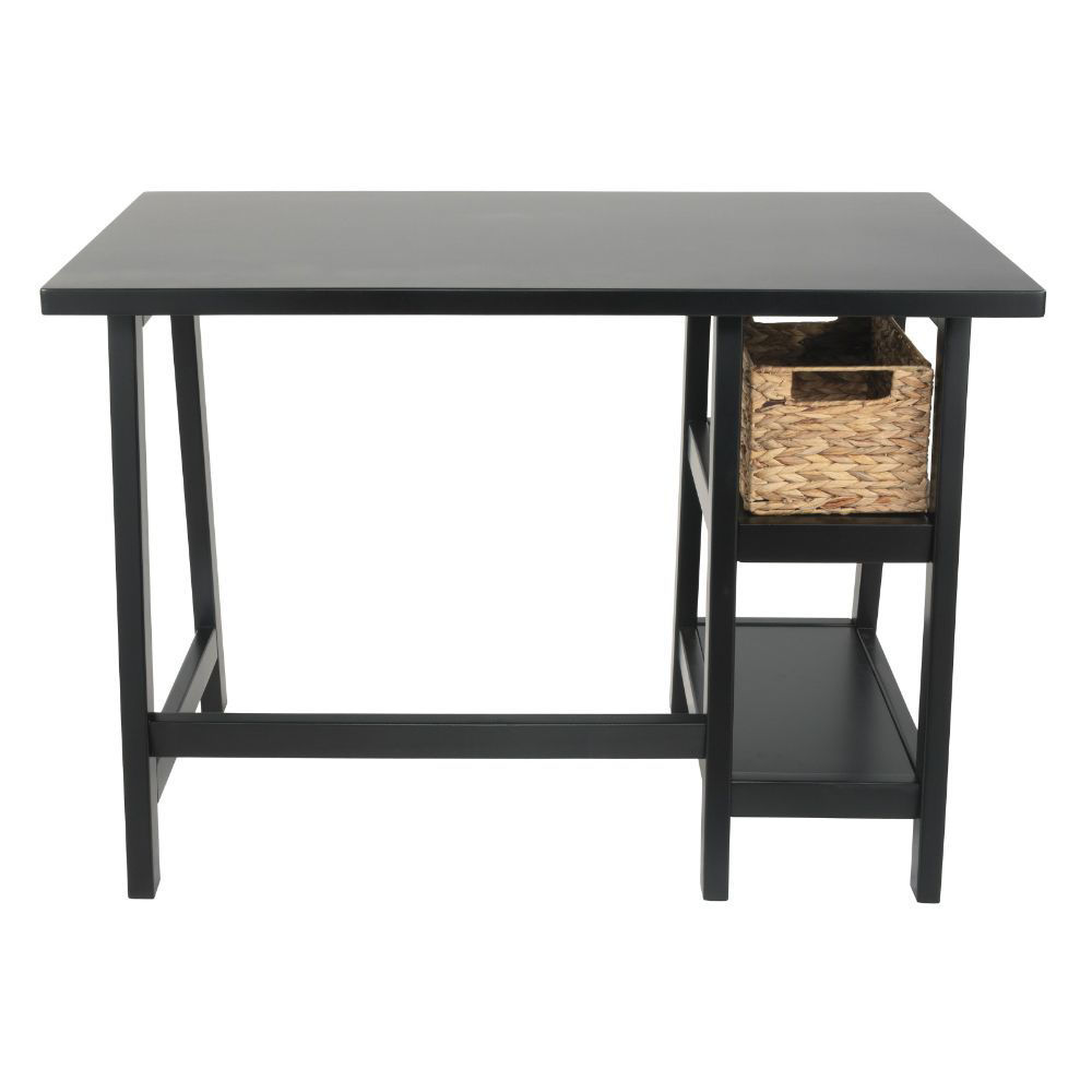 Miriana Small Office Desk - Black - Other Side