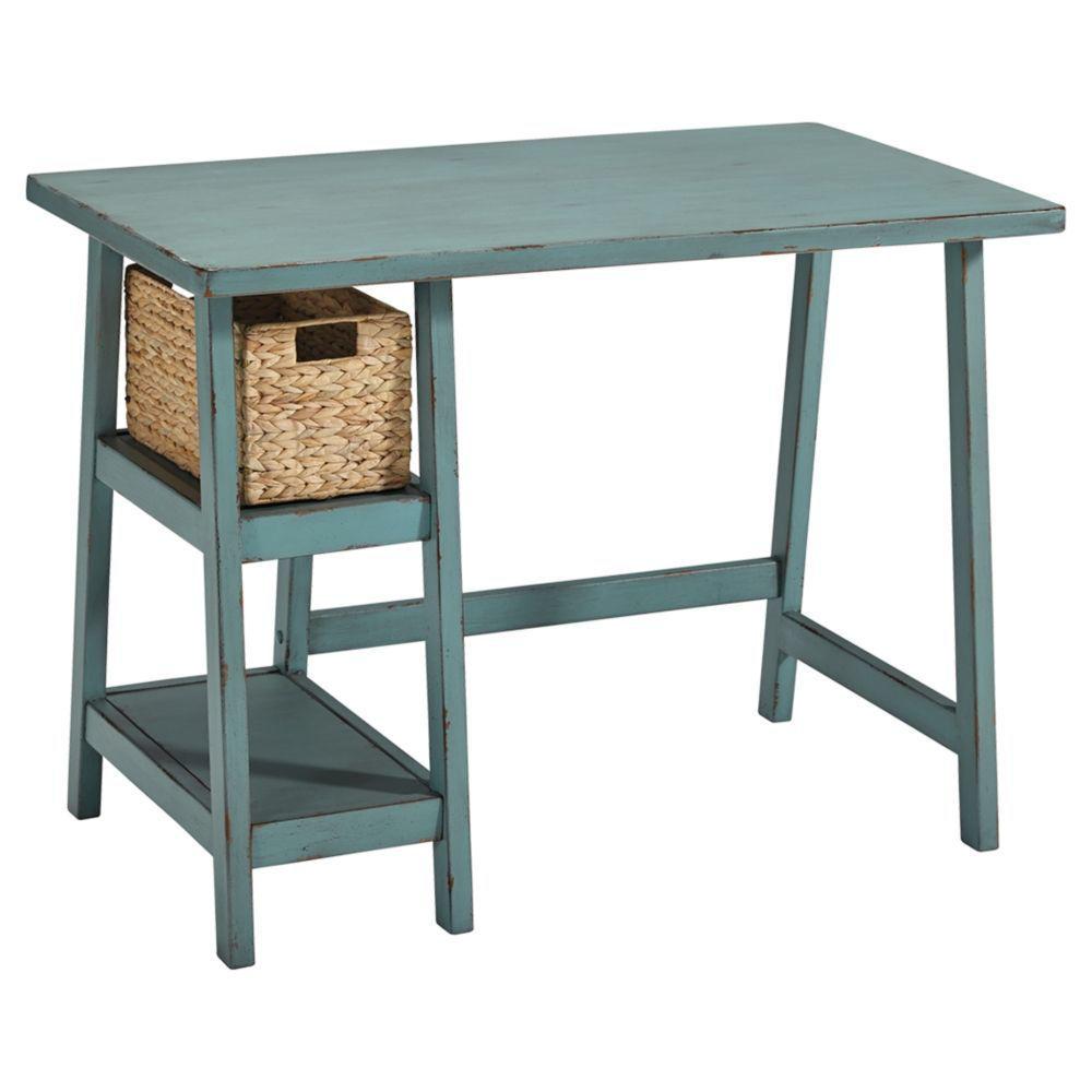 Miriana Small Office Desk - Teak