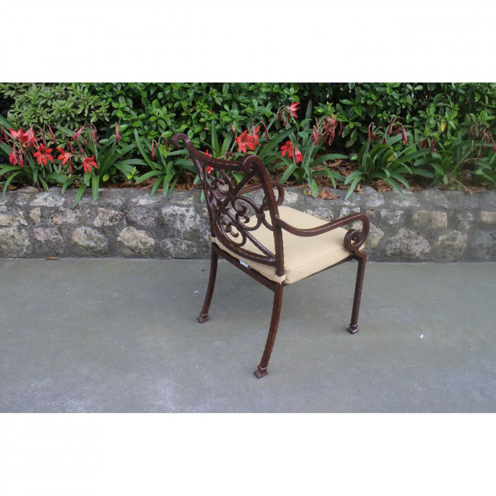Santa Rosa Side Chair - Rear