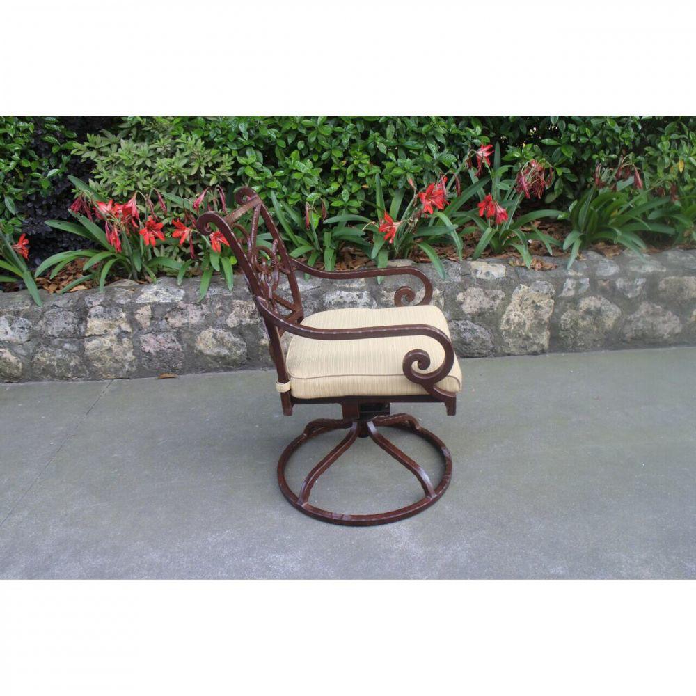 Santa Rosa Swivel Chair - Side