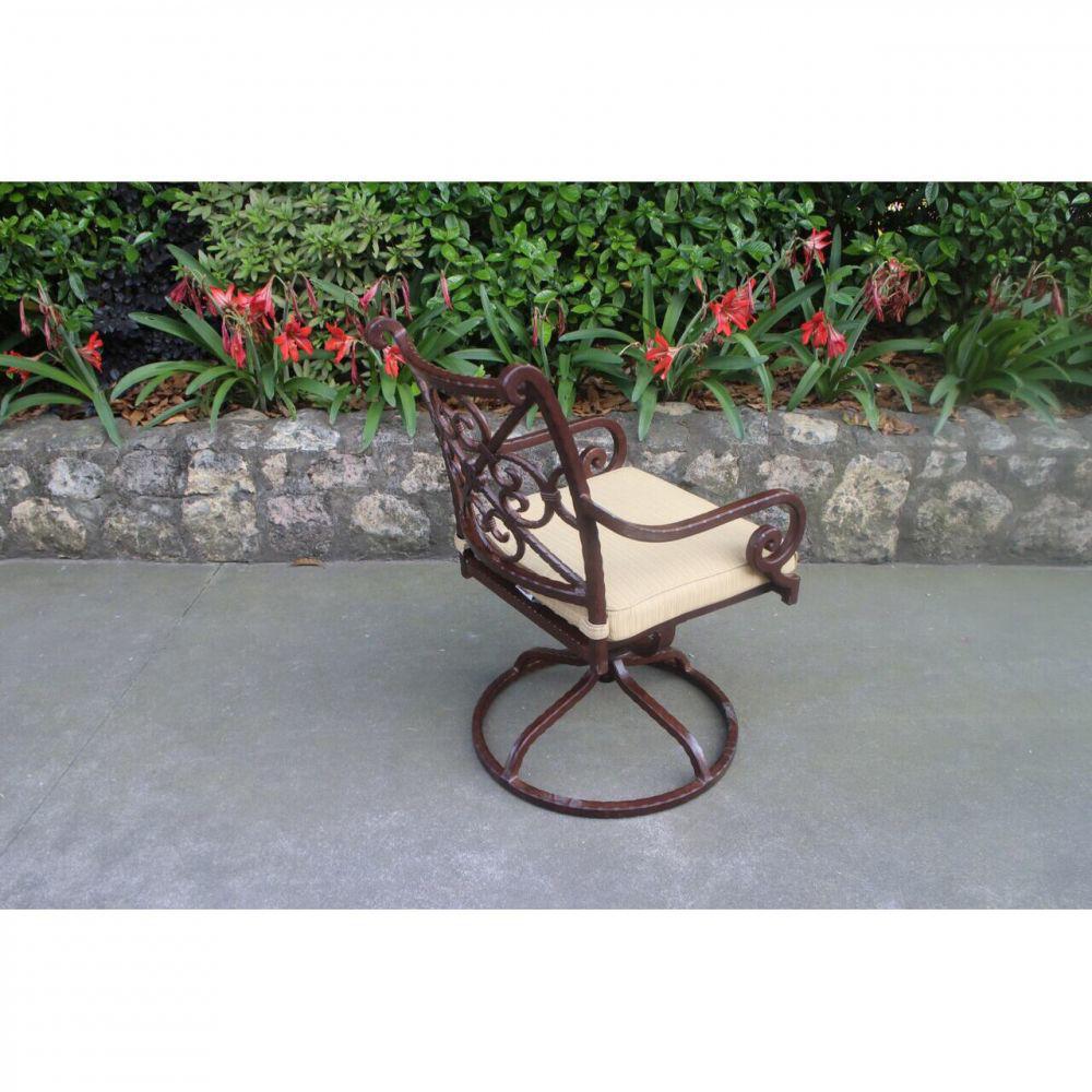 Santa Rosa Swivel Chair - Angle Rear