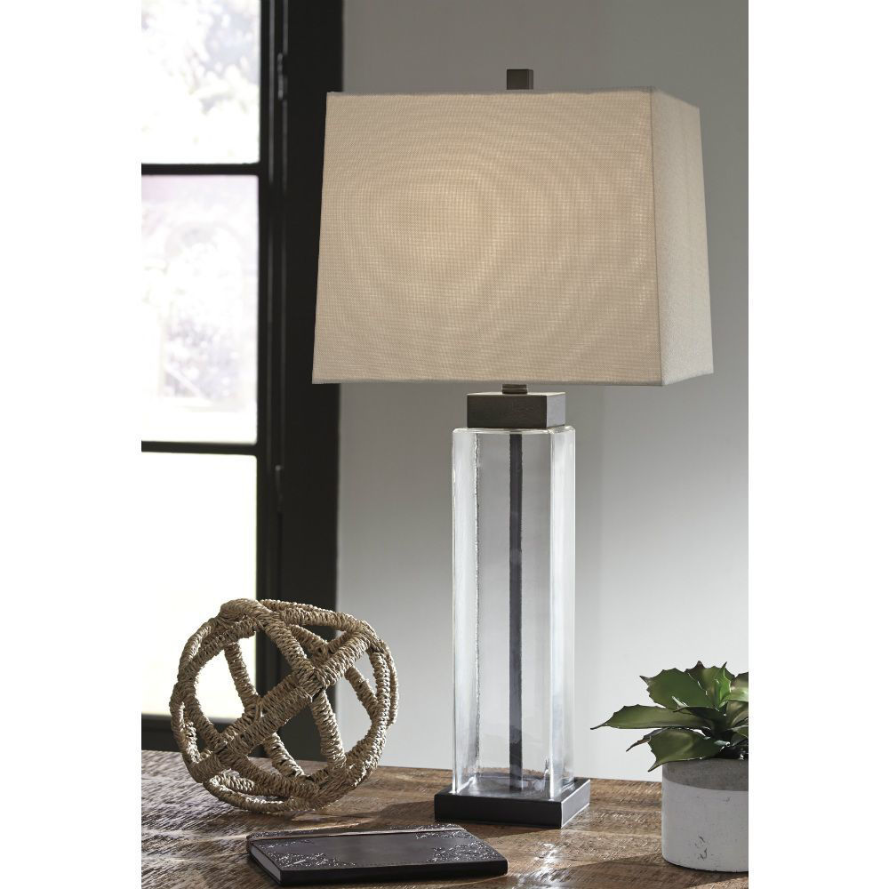 Alvaro Glass Table Lamp - Set of 2 - Lifestyle