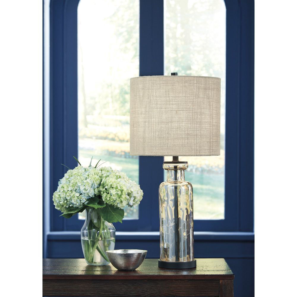 Lauren Glass Table Lamp - Set of 2 - Lifestyle