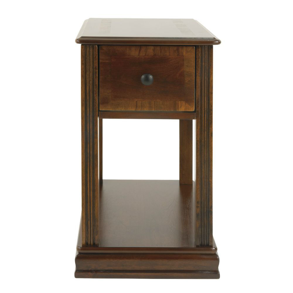 Breegin Chair Side End Table - Front