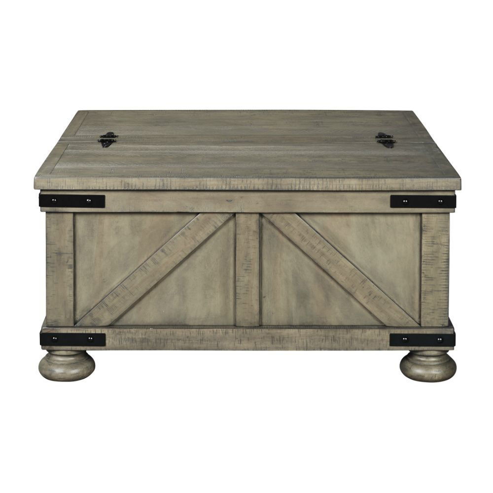 Aldwin Cocktail Table with Storage - Front