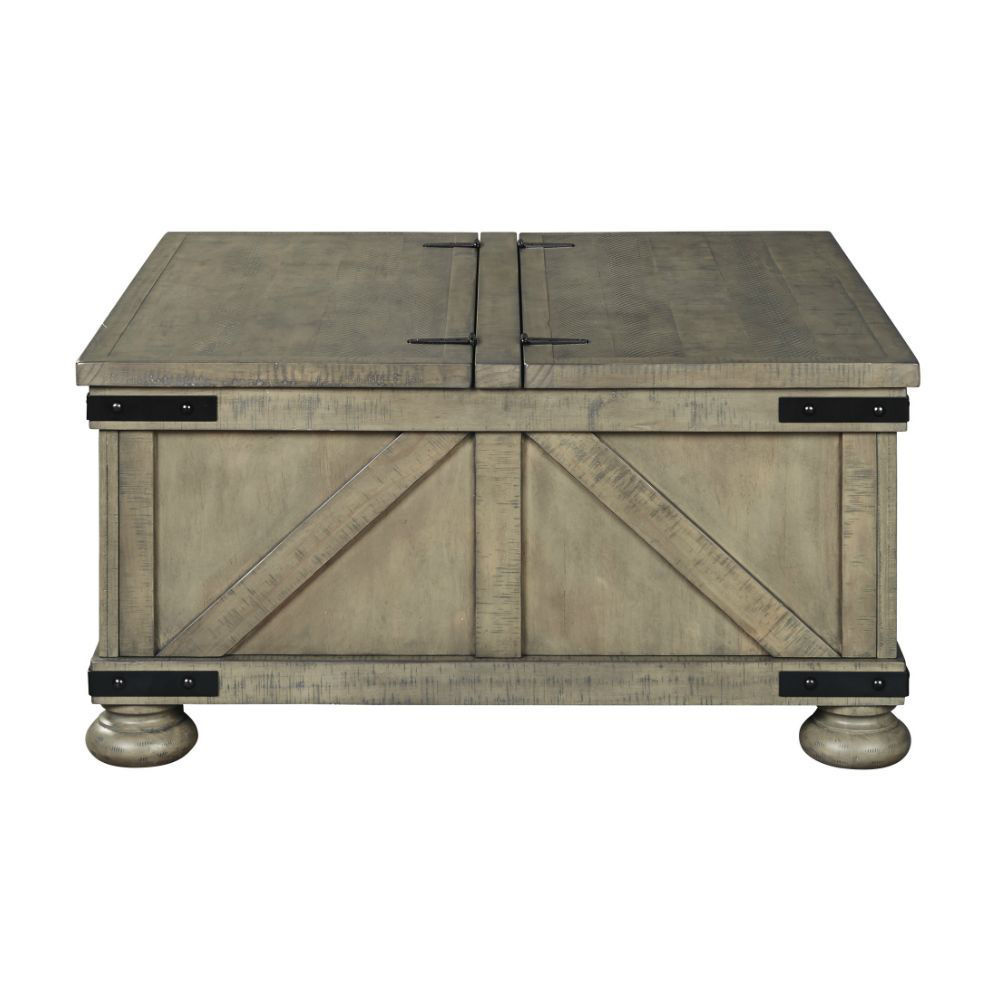 Aldwin Cocktail Table with Storage - Side