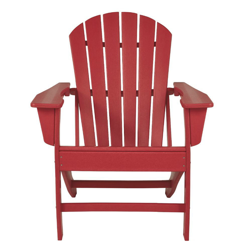Adirondack Chair - Red - Front