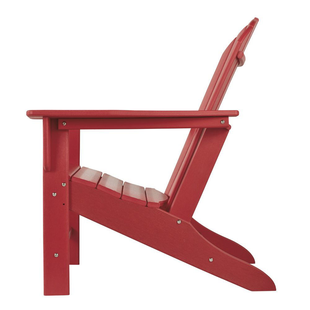 Adirondack Chair - Red - Side