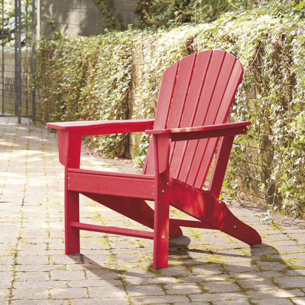 Adirondack Chair - Red - Lifestyle