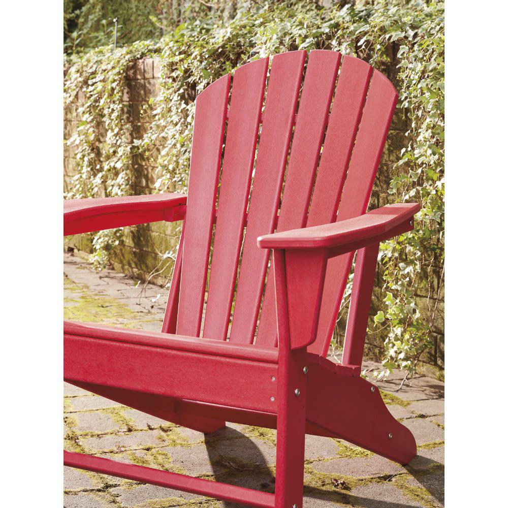 Adirondack Chair - Red - Lifestyle Detail