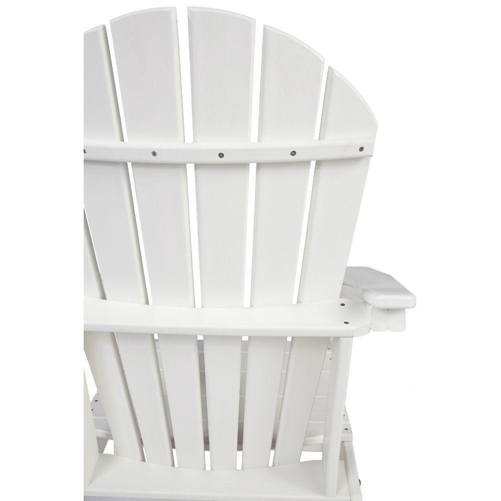 Adirondack Chair - White - Rear Detail