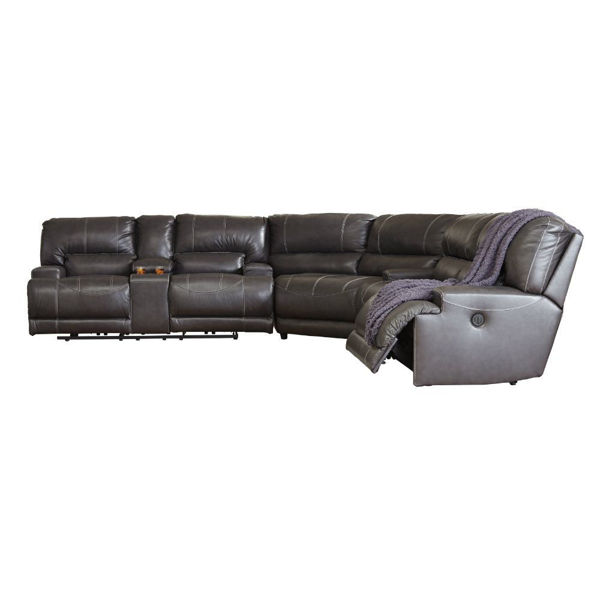 Micah 3-Piece Power Reclining Sectional