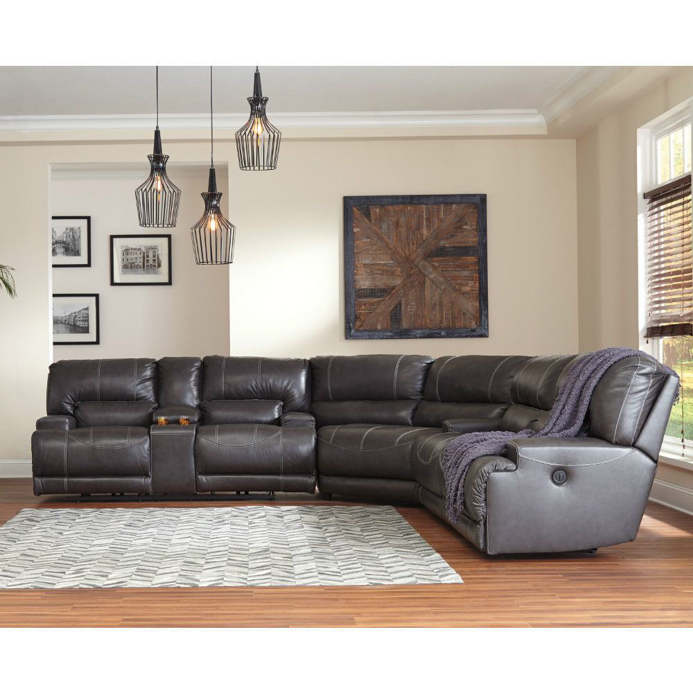 Micah 3-Piece Power Reclining Sectional - Lifestyle