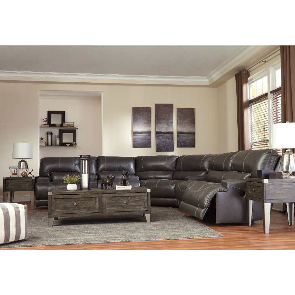 Micah 3-Piece Power Reclining Sectional - Collection