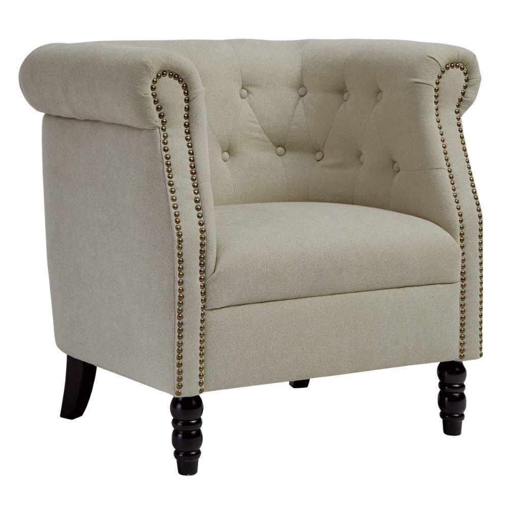 Jacque Accent Chair - Beige