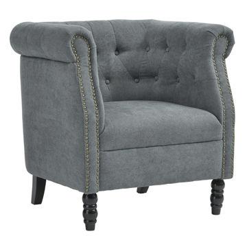 Jacque Accent Chair - Blue