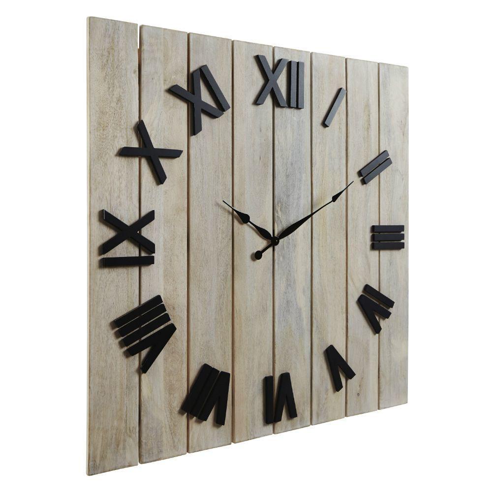 Braune Wall Clock - Angle