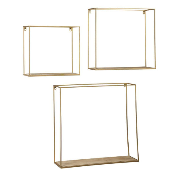 Efharis Wall Shelves - Set of 3