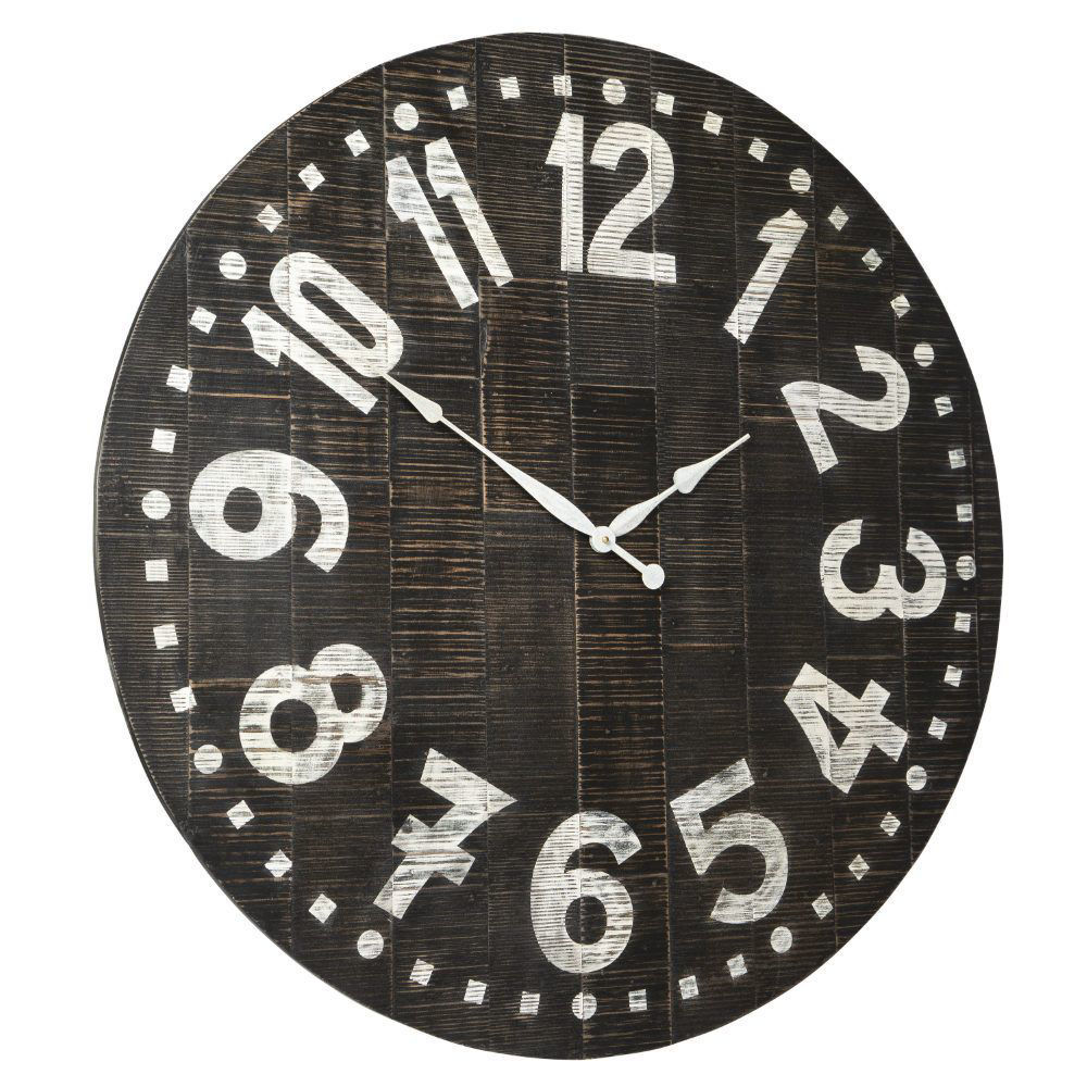 Brunelle Wall Clock - Angle