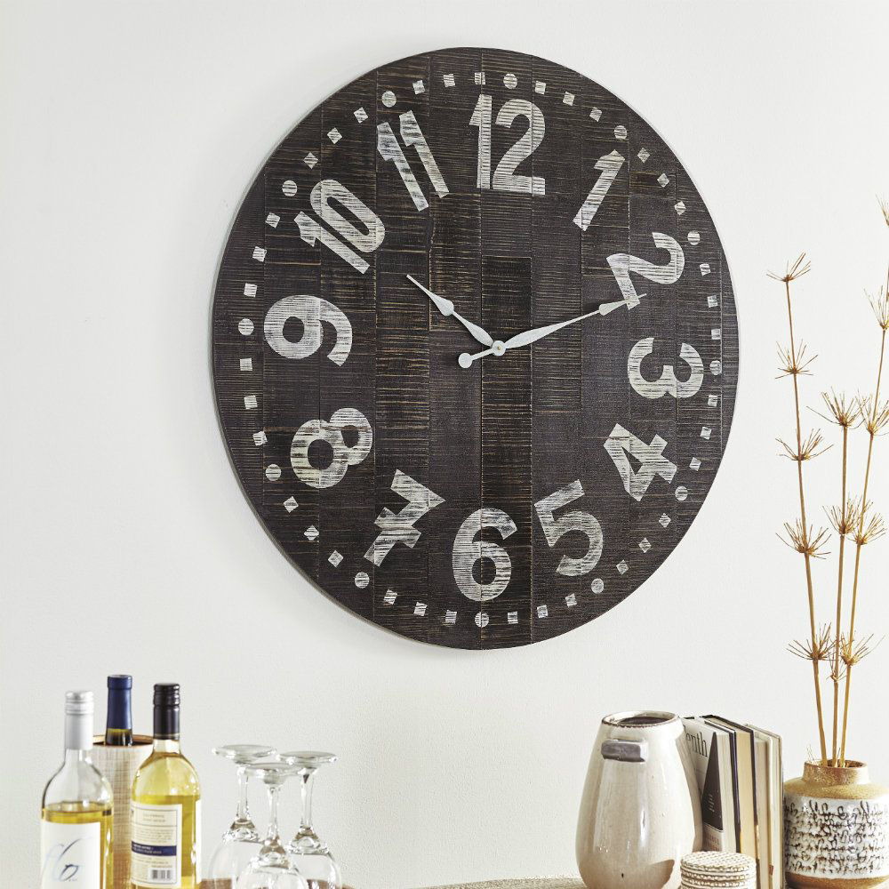 Brunelle Wall Clock - Lifestyle